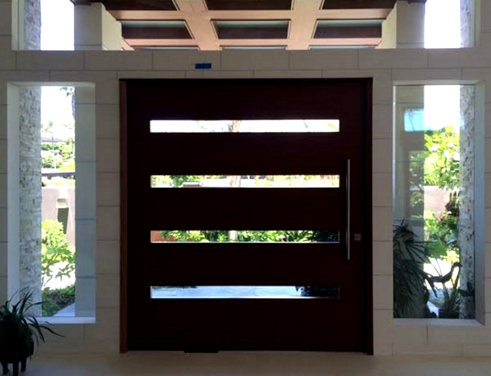 pivot door warp free modern pivot doors exotic woods high end homes