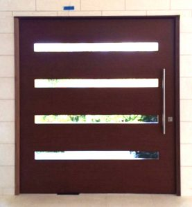pivot french door exterior door warp free wood front doors for sale