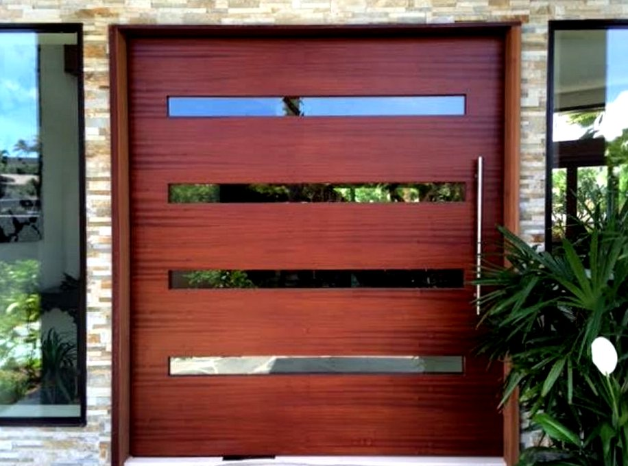 Modern front doors pivot door inc for Front door insulation