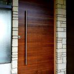 Pivot front door